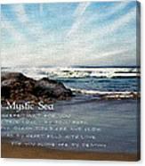 The Mystic Sea Canvas Print