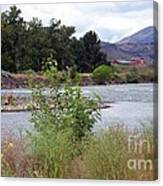 The Naches River Canvas Print
