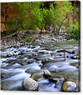 The Narrows A Place To Pause Canvas Print