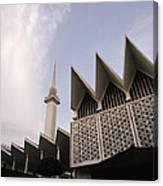 The National Mosque Kuala Lumpur Canvas Print