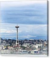 The Needle In Seattle Wa Canvas Print