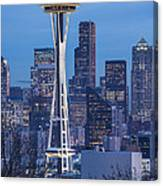 The Needle At Night Canvas Print