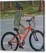 The New Bike Canvas Print