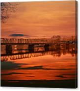 The New Hope Bridge Canvas Print
