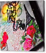 The New Love Story Birthday Canvas Print
