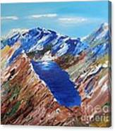 The New Zealand Alps Canvas Print