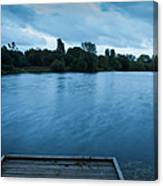 The Night Before The Big Storm Canvas Print