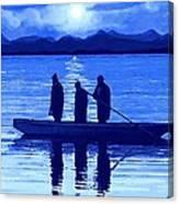 The Night Fishermen Canvas Print