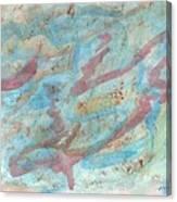 The Night In Farmington Hills Canvas Print