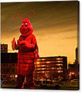 The Night Of The Lobster Man Canvas Print
