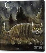 The Night Stalker Canvas Print