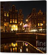 The Nine Streets Amsterdam Canvas Print