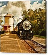 The Noon Train Canvas Print