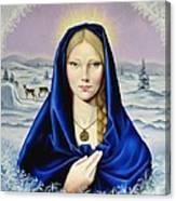 The Nordic Madonna Canvas Print