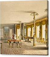 The North Drawing Room, Or Music Room Canvas Print