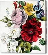 The Nosegay Canvas Print
