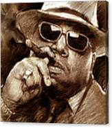 The Notorious B.i.g. Canvas Print