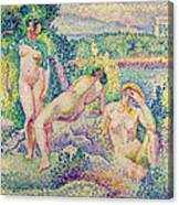 The Nymphs Canvas Print
