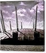 The O2 Arena Canvas Print