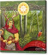 The Oak King Canvas Print