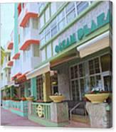 The Ocean Plaza Hotel Canvas Print