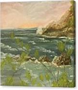 The Ocean View Canvas Print