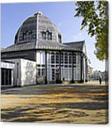 The Octagon - Buxton Pavilion Gardens Canvas Print