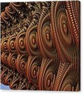 The Odd Beauty Of Fractals Canvas Print