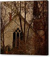 The Old Abandoned Church Canvas Print