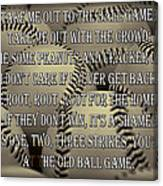The Old Ballgame Canvas Print