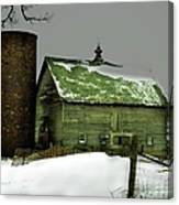 The Old Barn 4 Canvas Print