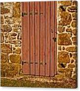 The Old Barn Door Canvas Print
