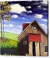 The Old Barn House Canvas Print