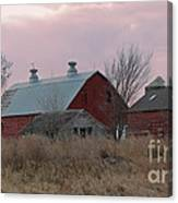 The Old Barns Canvas Print