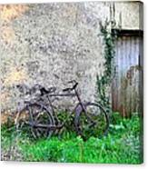 The Old Bike In The Irish Countryside Canvas Print