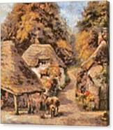 The Old Blacksmiths Forge  Canvas Print