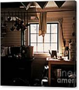 The Old Camp Kitchen Canvas Print