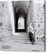 The Old City Of Jerusalem Canvas Print