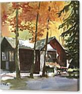 The Old Cottage Canvas Print