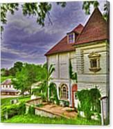 The Old Dugout - Leavenworth Va Canvas Print