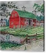 The Old Family Farm Canvas Print