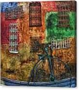 The Old Fashion Bike Canvas Print
