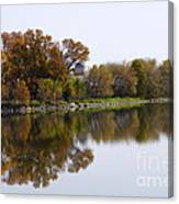 The Old Fishing Hole  Canvas Print