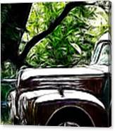 The Old Ford Truck Canvas Print