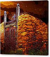 The Old Gates Of Galisteo Canvas Print