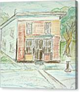 The Old General Store Canvas Print