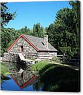 The Old Grist Mill Canvas Print