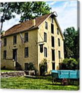 The Old Grist Mill  Paoli Pa. Canvas Print