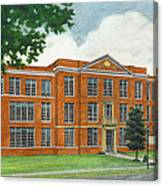 The Old High School Canvas Print