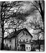 The Old House Down The Street Canvas Print